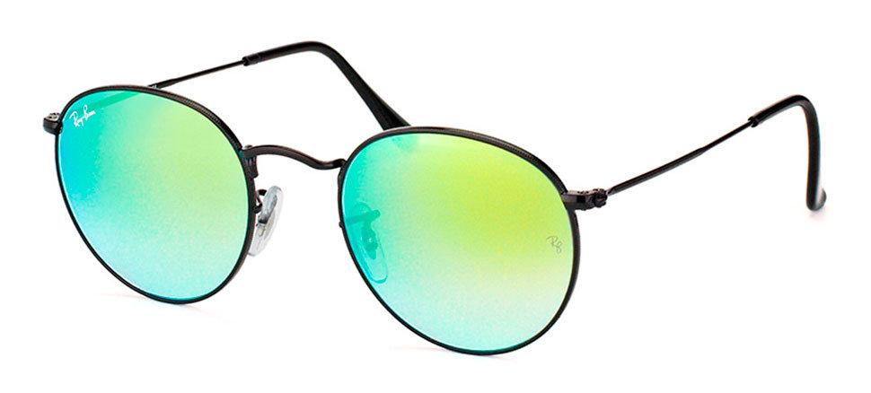 Солнцезащитные очки Ray-Ban RB3447 002 4J Round e7ca14bb819c1